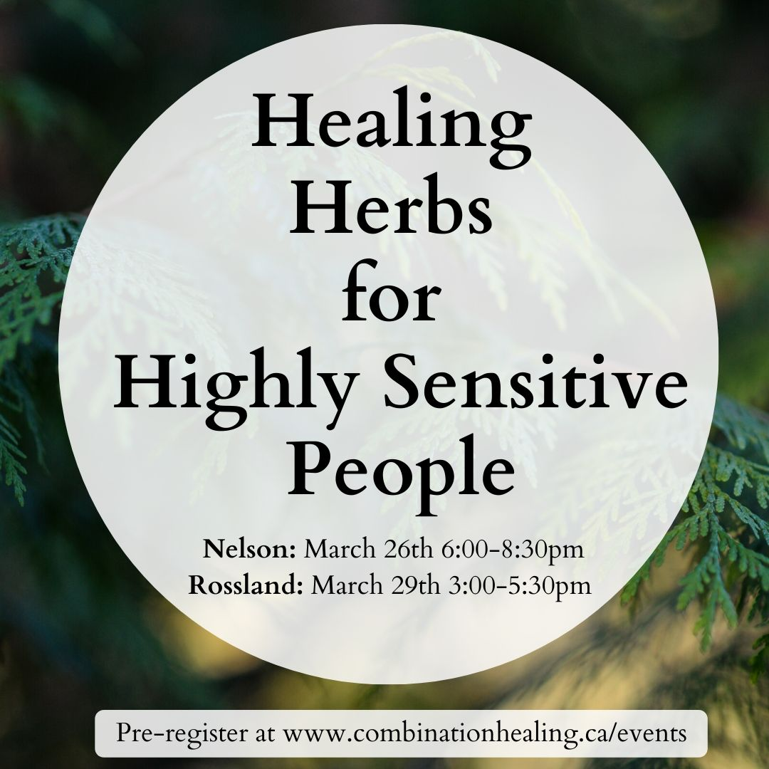 image from Healing Herbs for Highly Sensitive People (Now ONLINE)