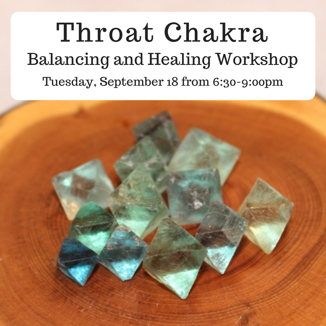 image from Chakra Balancing and Healing Series: Throat Chakra