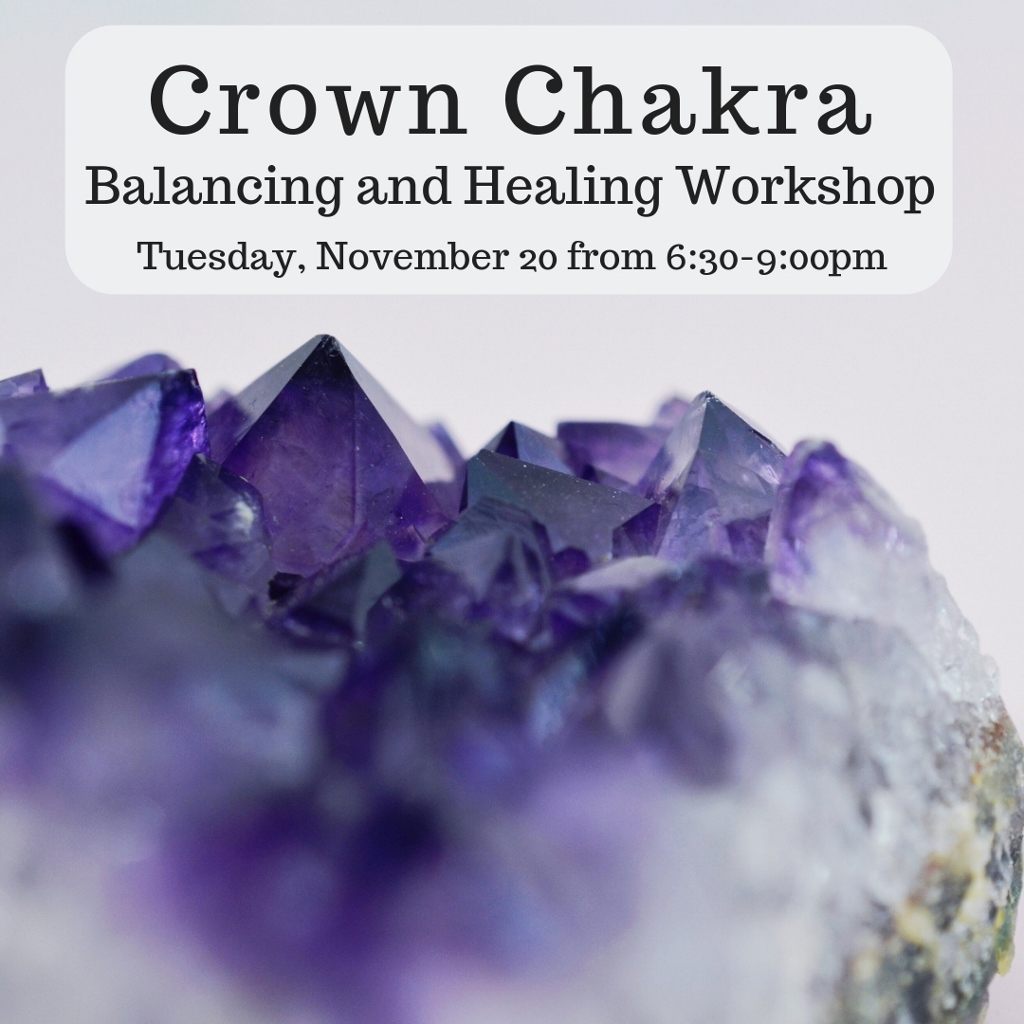 image from Chakra Balancing and Healing Series: Crown Chakra