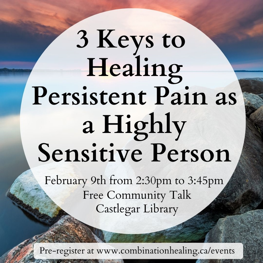 image from 3 Keys To Healing Persistent Pain as a Highly Sensitive Person