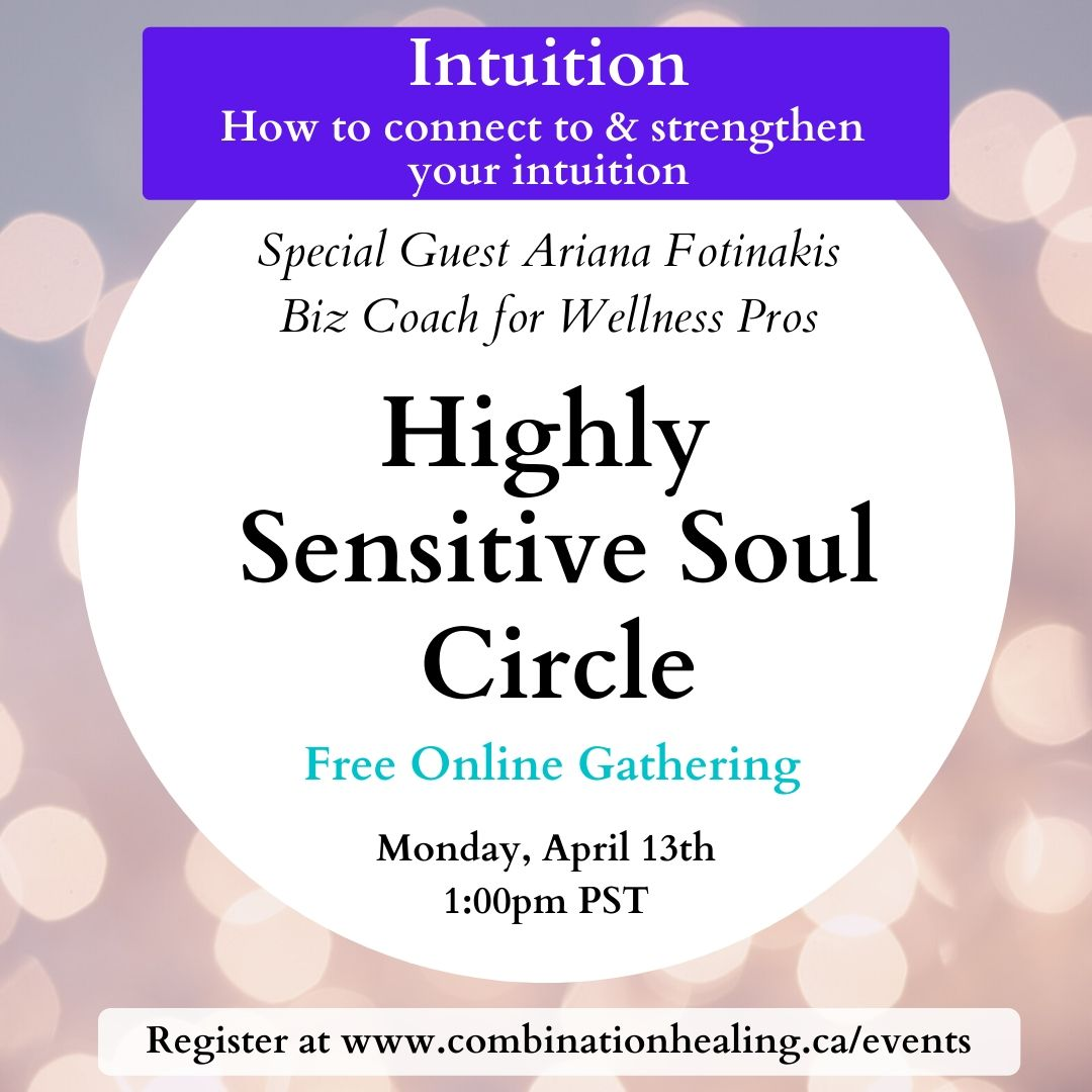 image from Highly Sensitive Soul Circle- Intuition Edition