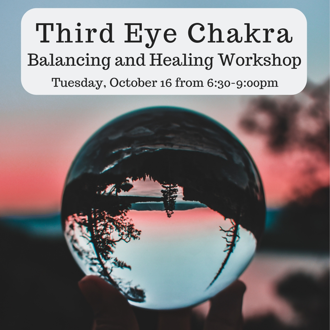 image from Chakra Balancing and Healing Series: Third Eye Chakra